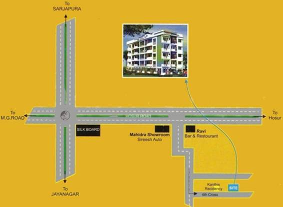 Reputed Neha Premier Location Plan