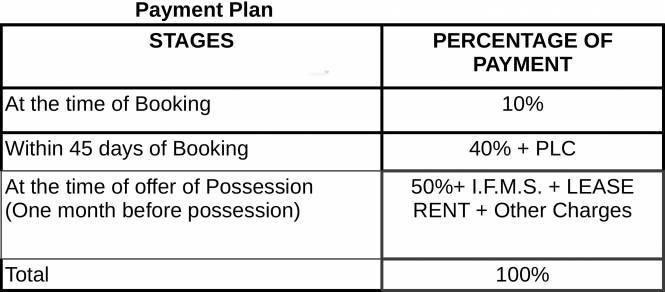 Gulshan Vivante Payment Plan