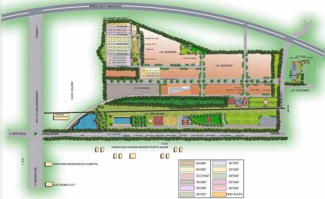 JR Garden Retreat Layout Plan