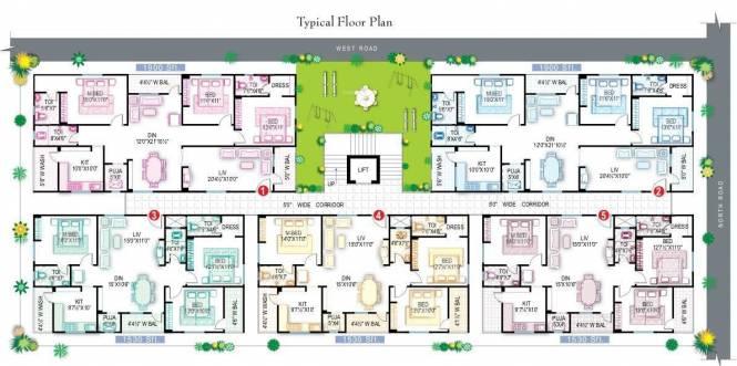 ARCA Satya Residency Cluster Plan