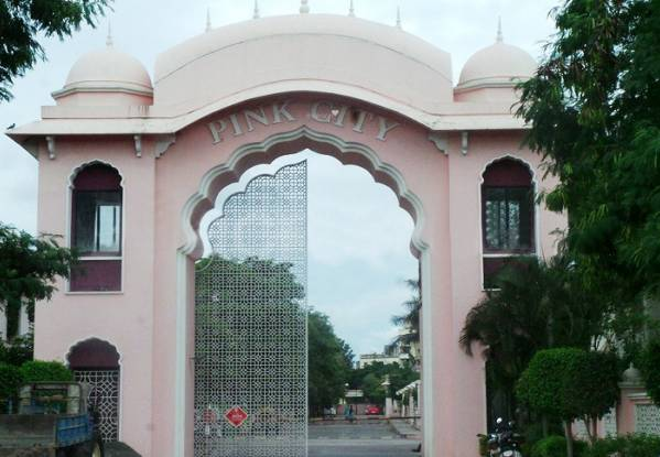 Kolte Patil Pink City Elevation