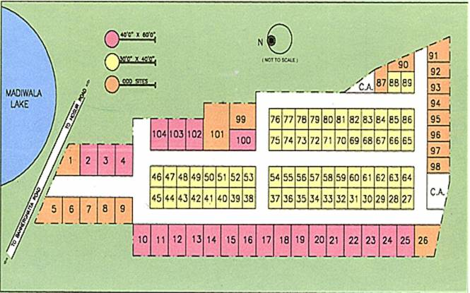 Duo Duo Enclave Layout Plan