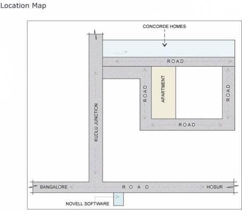 Concorde Livingston Location Plan