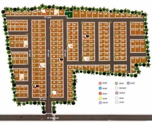 NBR Homes Layout Plan