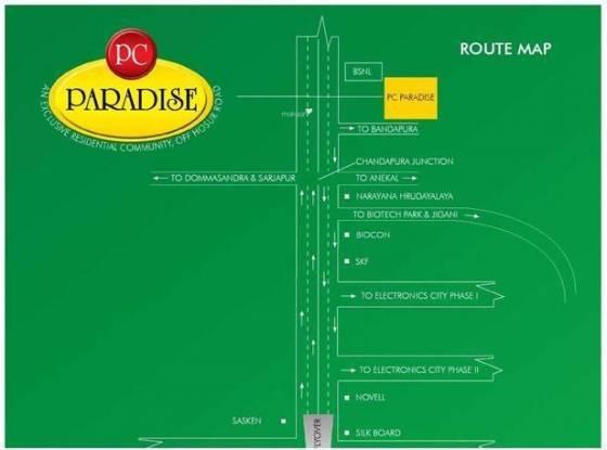 Apna Pc Paradise Location Plan