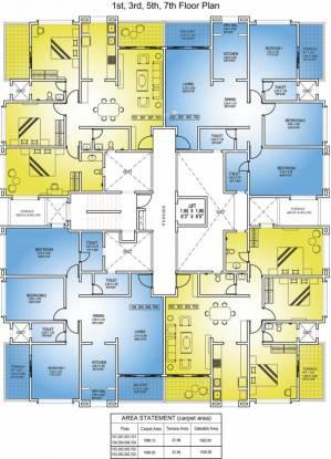 Nandan Astra Cluster Plan