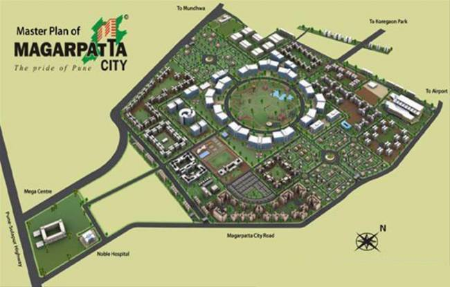 Magarpatta Jasminium Master Plan