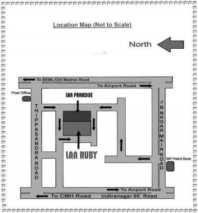 Laa Laa Ruby Location Plan