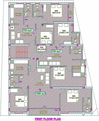 VGP Selva Nagar Cluster Plan