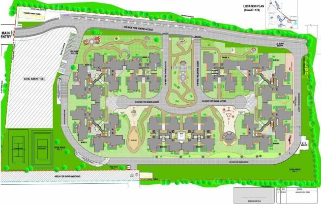 Sobha Chrysanthemum Site Plan