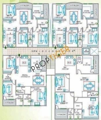 Kondaveedu Enclave Cluster Plan