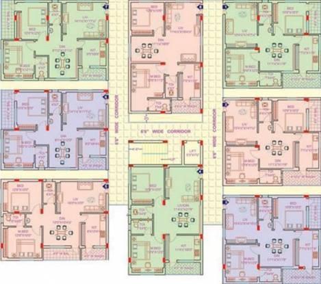 Lahari Grand Villa Cluster Plan