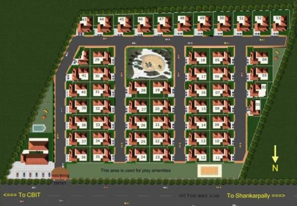 Subishi Windsor Luxury Homes Layout Plan