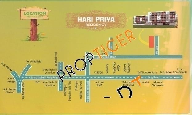 Aesthetic Hari Priya Location Plan