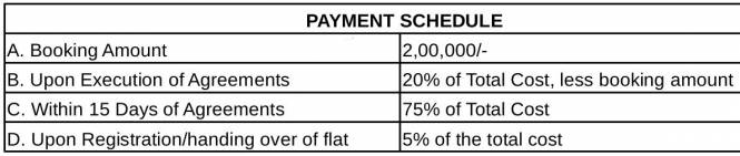 Vars Parkwood Payment Plan