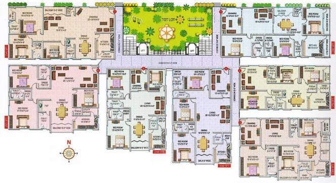 ARCA Sarovar Cluster Plan