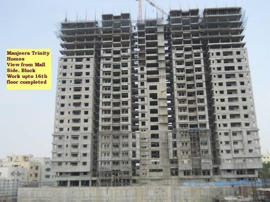 Manjeera Trinity Sky Villas Construction Status