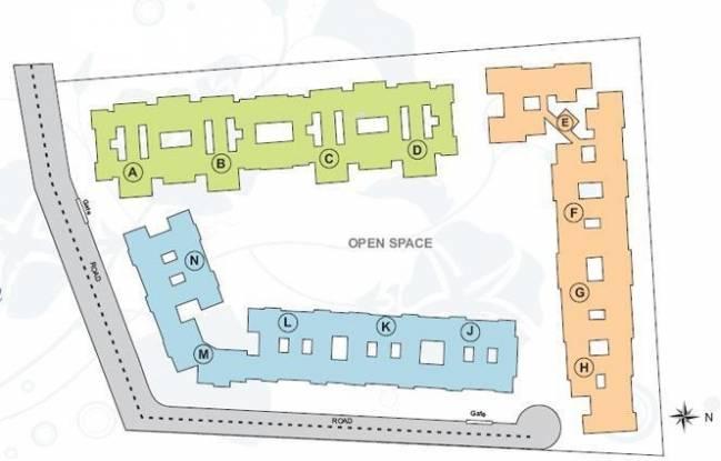 Townscape Simple Park Site Plan