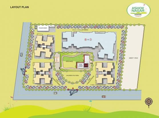 Harshad Ashok Nagar Phase I Layout Plan