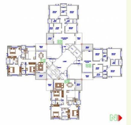 Magarpatta Trillium Cluster Plan
