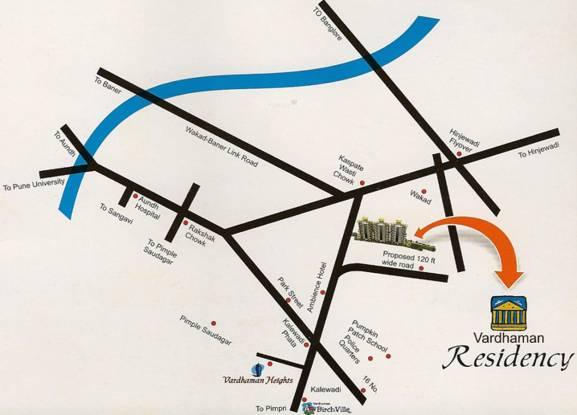Vardhaman Vardhman Residency Location Plan