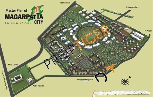 Magarpatta Acacia Gardens Master Plan