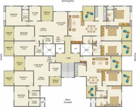 Mittal ParkWayz Cluster Plan