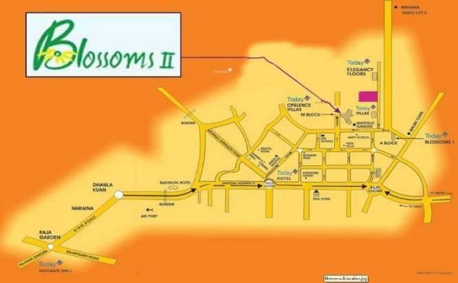 Today Homes Blossoms II Location Plan