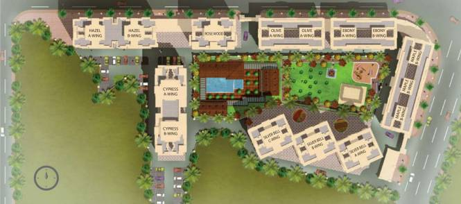 Siddhi Highland Gardens in Thane West, Mumbai - Flats for Sale in ...