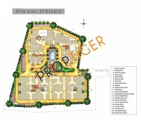 Doshi Etopia II Site Plan