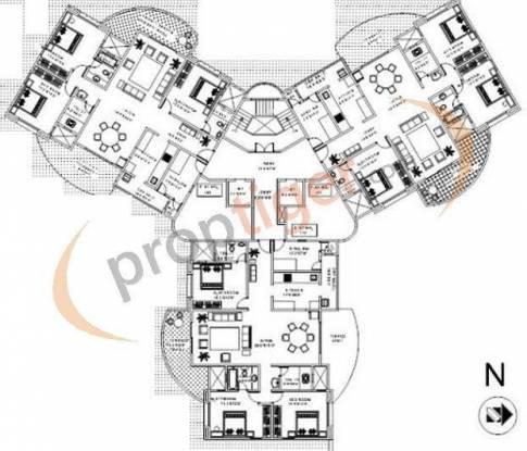 Magarpatta Laburnum Park Cluster Plan