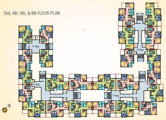 Vardhaman Vardhaman Heights Phase2 Cluster Plan