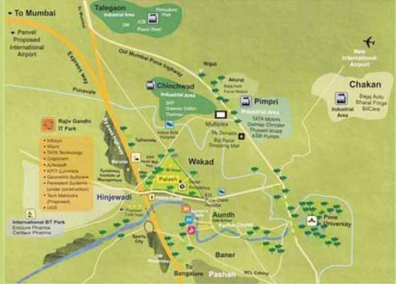 Vilas Javdekar Palash 2dot0 Location Plan