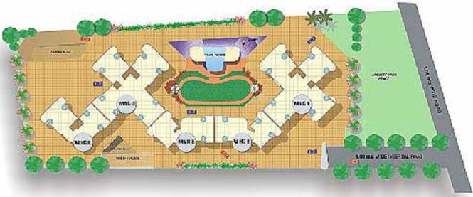 Shree Regalia Homes Site Plan
