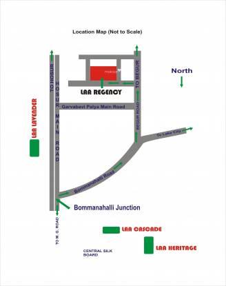 Laa Laa Royal Manor Location Plan