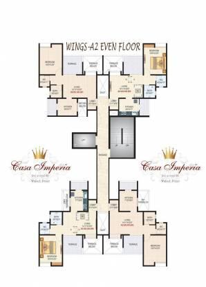 Sanskruti Casa Imperia Cluster Plan