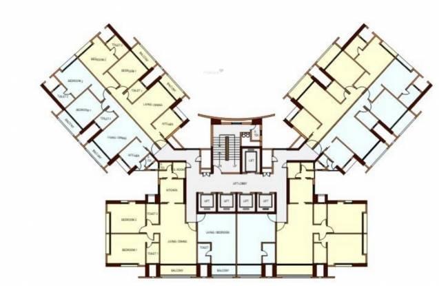 Peninsula Ashok Towers Cluster Plan