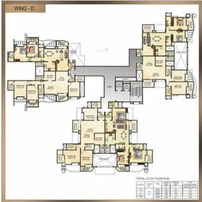 5 Star Royal Imperio Cluster Plan