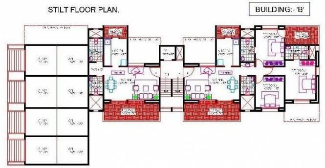 OM Aishwarya Residency Cluster Plan