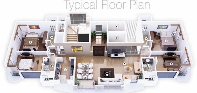 Darvesh Belleza Cluster Plan