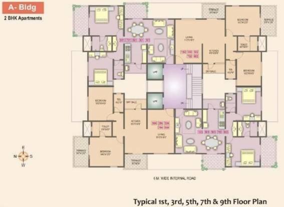 Jadhav Brick Castle Cluster Plan