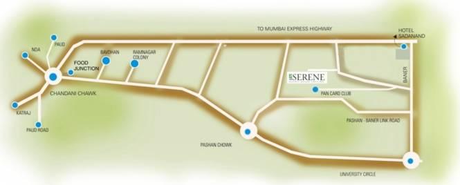 Phadnis Sahil Serene Location Plan