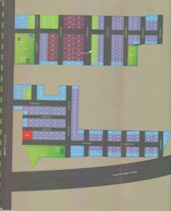 Hoysala Wessex Residential Layout Layout Plan