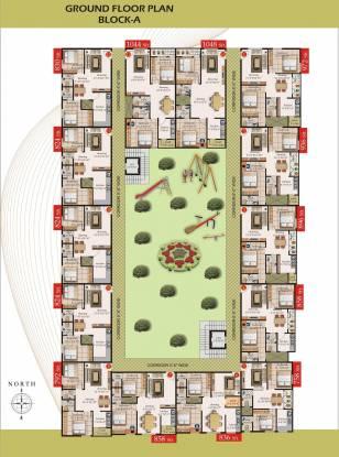 Pujitha Sri Sai Srinivas Enclave Cluster Plan