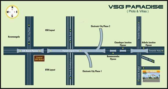 VSG VSG Paradise Location Plan