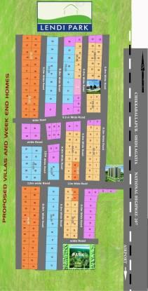 Akshya Lendi Park Layout Plan