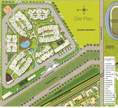 Sikka Karmic Greens Master Plan