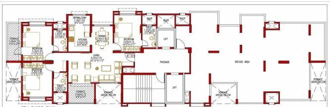 Sanskruti Casa Poli Cluster Plan