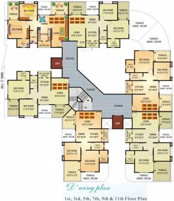 Vishwa Florencia Phase 1 Cluster Plan