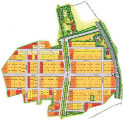 SLV Gokul Gardens Layout Plan